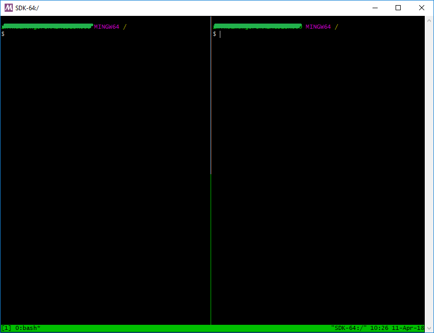 tmux on Windows